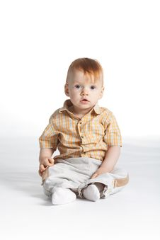Free Little Funny Boy Stock Image - 17654161