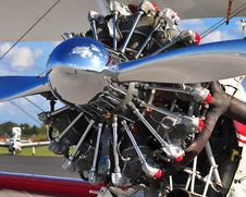 Free Radial Engine Royalty Free Stock Image - 17654166