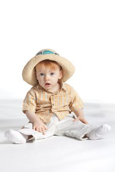 Free Boy In Hat Royalty Free Stock Image - 17654216
