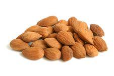 Free Almonds Royalty Free Stock Photos - 17654738