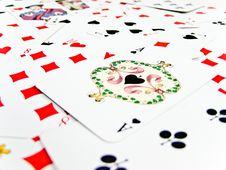 Free Ace Spade Royalty Free Stock Image - 17656256