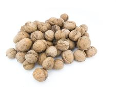 Free Heap Of Walnuts Stock Photography - 17656302