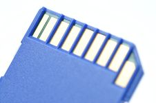 Free Close-up Memory Cards Royalty Free Stock Image - 17658586