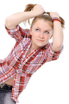 Beautiful Teenager Royalty Free Stock Image