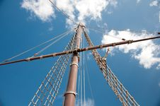 Free Mast Of The Replica Of A Columbus S Ship Stock Photos - 17659493