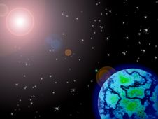 Free Earth. Royalty Free Stock Photo - 17659625