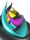 Free Spiral CMYK Stock Image - 17663741