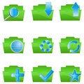 Free Folder Icons Stock Photos - 17665613