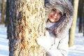 Free Girl Winter Portrait Royalty Free Stock Photos - 17668888