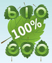 Free Bio And Eco Labels Stock Images - 17669084