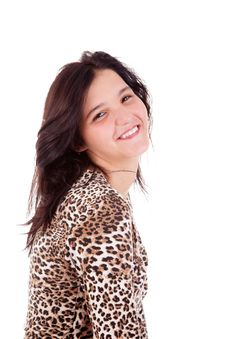 Free Beautiful Young Woman Smiling Stock Photos - 17660323