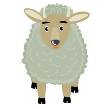 Free Illustration Of The Curly Ram Royalty Free Stock Photos - 17661658