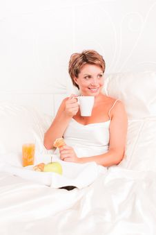 Free Breakfast In Bed Stock Photo - 17661730