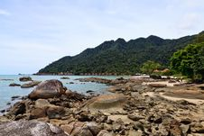 Free Resort Near The Beach On A Tropical Island Stock Photography - 17662362