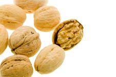 Free Walnuts Royalty Free Stock Image - 17662526