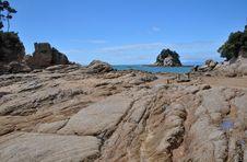 Little Kaiteriteri Rocks, New Zealand Stock Images