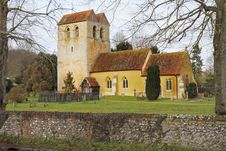 Free An English Village Church And Tower Stock Photos - 17663143