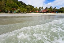 Free Resort Near The Beach On A Tropical Island Royalty Free Stock Photography - 17663917