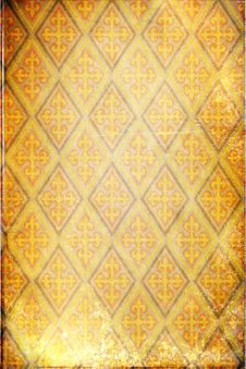 Free Retro Floral Background Royalty Free Stock Image - 17663976