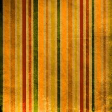 Free Retro Stripped Background Stock Image - 17664011
