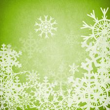 Free Abstract Snowflake Background Stock Images - 17664014