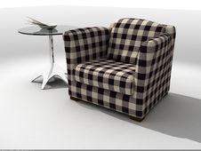 Modern Sofa 3D Rendering Stock Photos