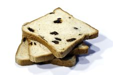 Raisin Bread Stock Photography