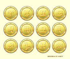 Zodiac  Icon. Royalty Free Stock Image