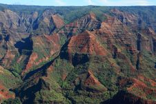 Free Waimea Canyon Royalty Free Stock Image - 17665576