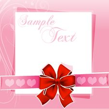 Free Valentine Card Royalty Free Stock Images - 17665579