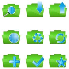 Free Folder Icons Stock Photos - 17665613
