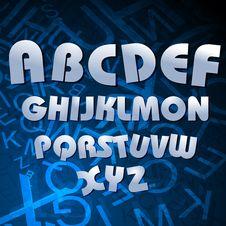 Free Alphabetical Texts Stock Image - 17665701