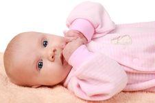 Free Babygirl Stock Photography - 17665872
