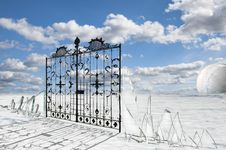 Free Pearly Gates Stock Photography - 17665892