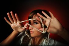 Free Beads Royalty Free Stock Images - 17665969