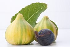 Free Ripe Fruits Of A Fig Royalty Free Stock Images - 17667269