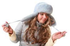 Free Winter Hat Royalty Free Stock Image - 17667416