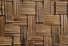 Bamboo Panel Royalty Free Stock Images
