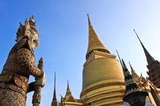 Free Pra-Keaw Temple Royalty Free Stock Image - 17668766