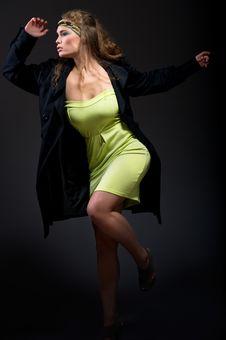 Free Beautiful Woman Indoor Royalty Free Stock Photo - 17669105