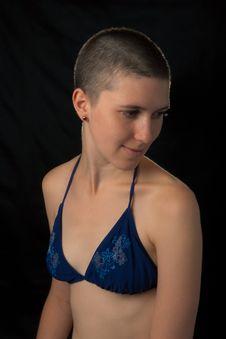 Free Shaved Girl In Bikini Stock Photo - 17669260