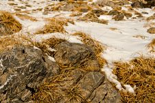 Free Snow-covered Rocks Stock Photo - 17669700