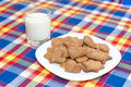 Free Cookies With Milk Stock Image - 17677441