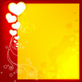 Free Abstract Valentine Card Royalty Free Stock Photo - 17678295