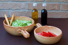 Free Tomato And Salad Stock Photo - 17670580
