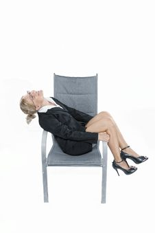 Free In Chair Royalty Free Stock Image - 17670976