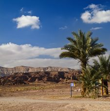 View On Timna Park, Israel Royalty Free Stock Photo