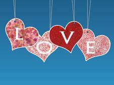 Free Valentine Love Card Stock Photo - 17671200