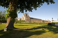 Jardin Des Tuileries Stock Photo
