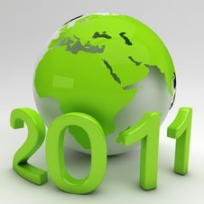 Free Green New Year Stock Photo - 17671840